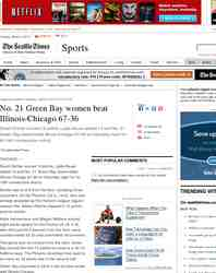 No 21 Green Bay women beat Illinois Chicago: Seattle Times